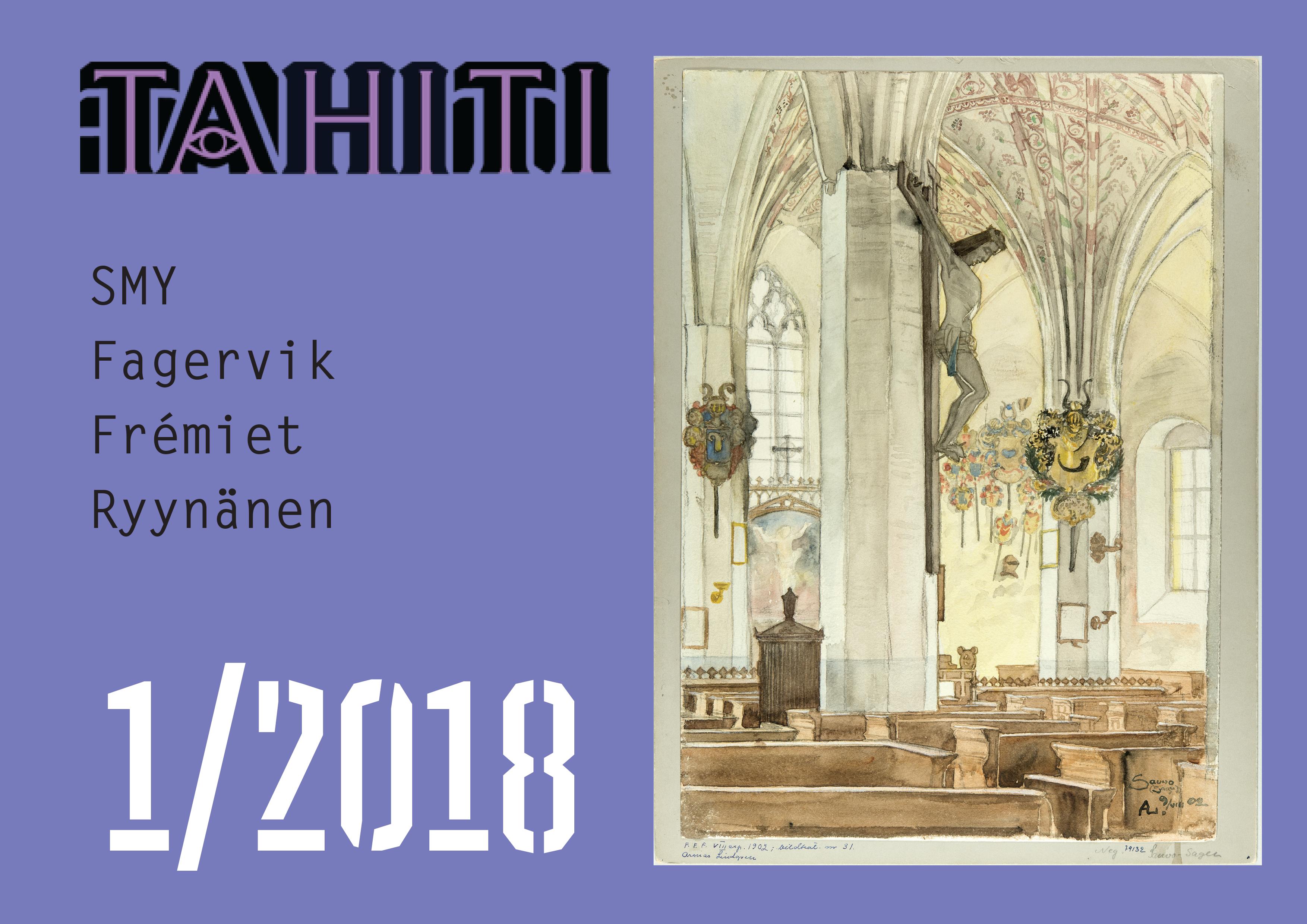 Näytä Vol 8 Nro 1 (2018): Tahiti 1/2018