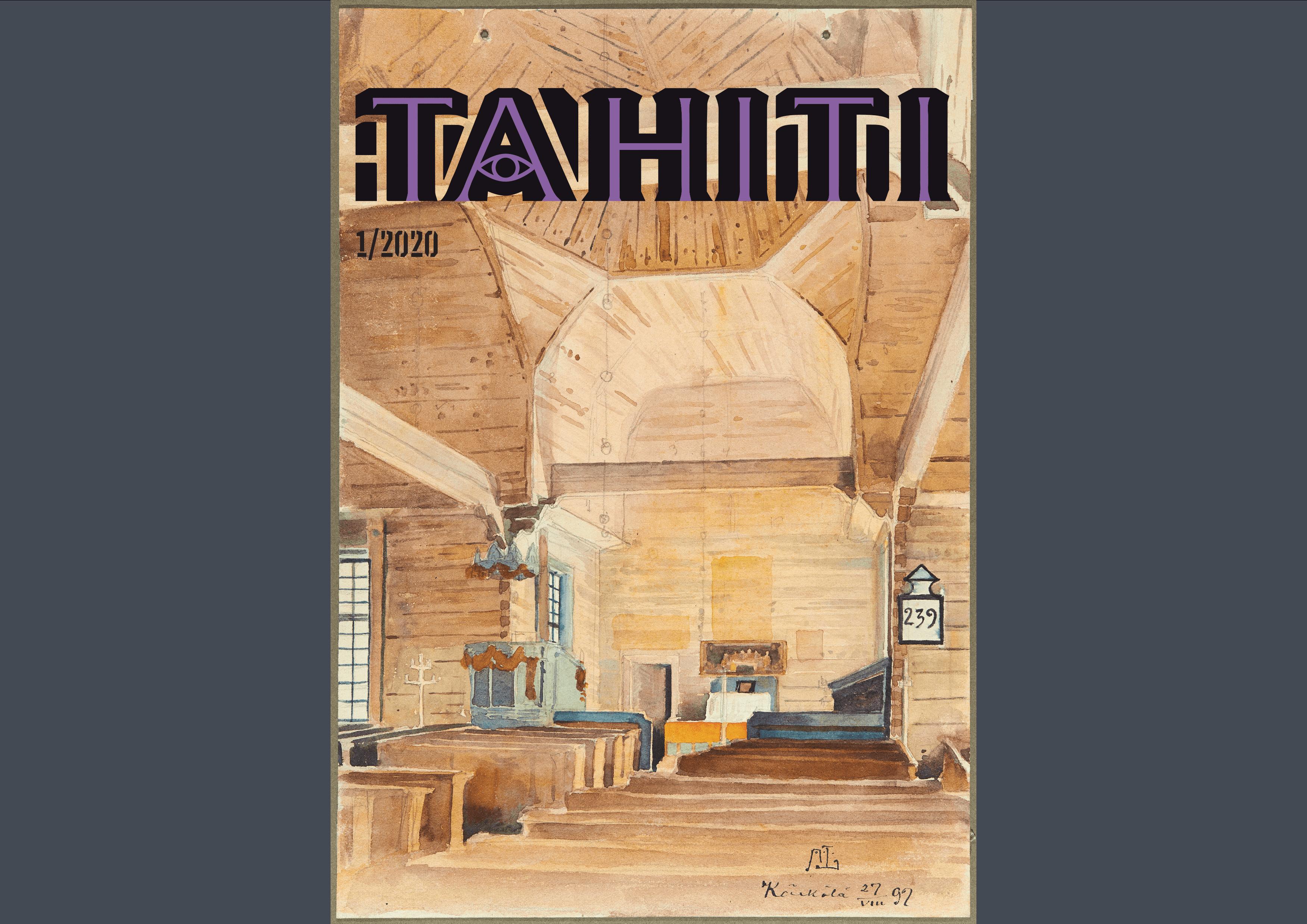 Vol 10 Nro 1 (2020): Tahiti 1/2020